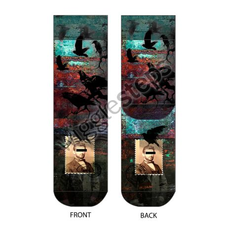 Men Socks BLACK BIRDS