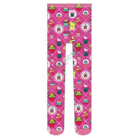 Girls Tights LITTLE CAKES
