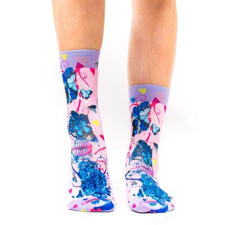 Lady Socks BUTTERFLY