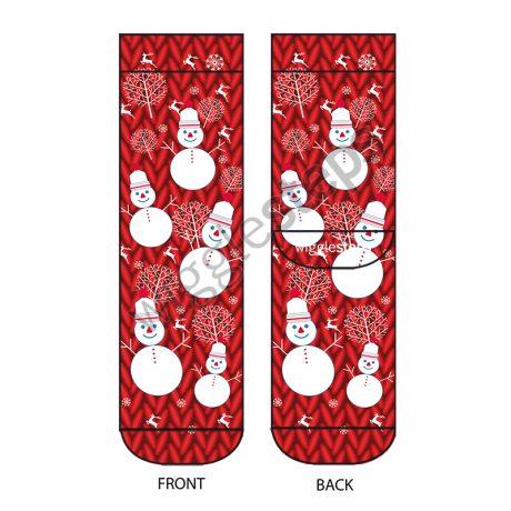 Lady Socks MR SNOWMAN