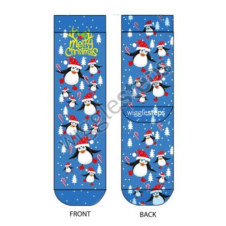 Lady Socks CHRISTMAS PENGUIN
