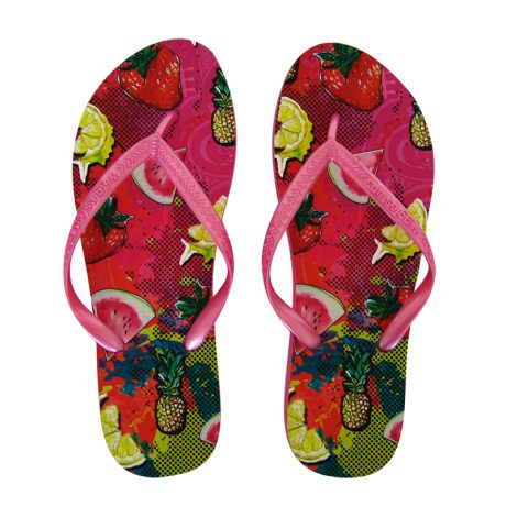 Lady Flip Flops SUMMER FRUITS