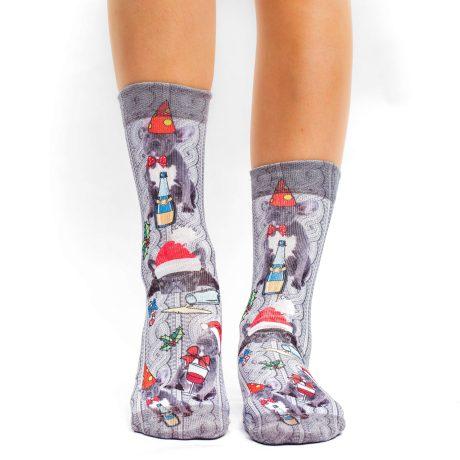 Lady Socks XMAS FRENCH-W