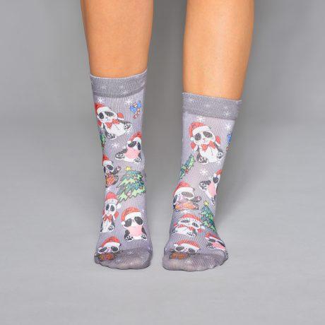 Lady Socks NEWYEAR PANDA II