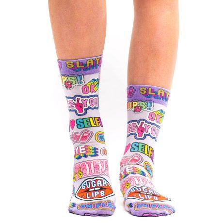 Lady Socks SEE YOU