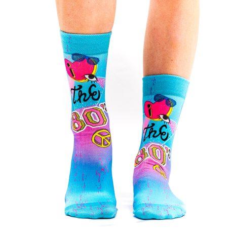 Lady Socks LOVE THE 80´s