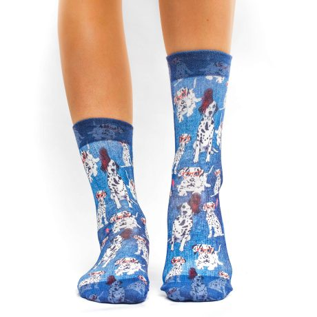 Lady Socks COOL DALMATION