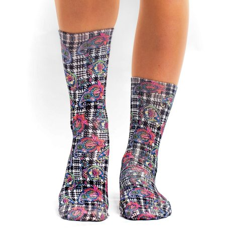 Lady Socks CHECK ETRO