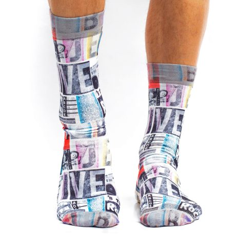 Men Socks MUSICAL CODE