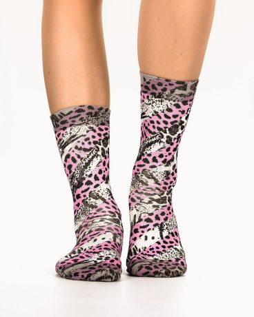 Lady Socks COLORFULL LINES 3