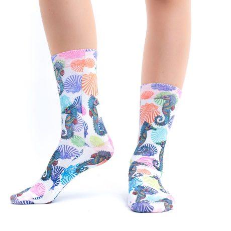 Lady Socks BABY SEAHORSES