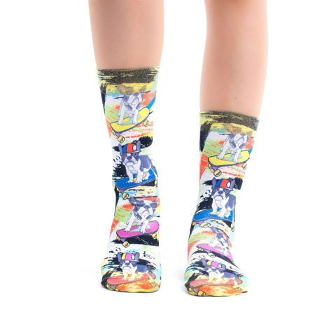 Lady Socks FRENCH SKATEBOARDER-W