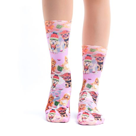 Lady Socks FUNNY PUPPIES