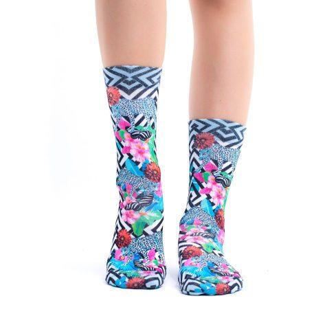 Lady Socks WILD GARDEN