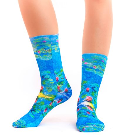 Lady Socks CLAUDE MONET WATER LILIES