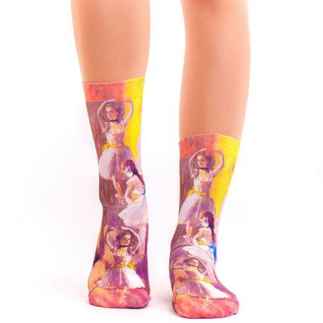 Lady Socks DEGAS TWO DANCERS
