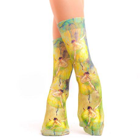 Lady Socks DEGAS DANCER TILTING