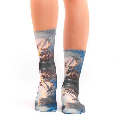 Lady Socks REMBRANDT STORM