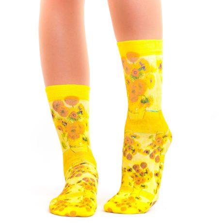 Lady Socks VAN GOGH VASE