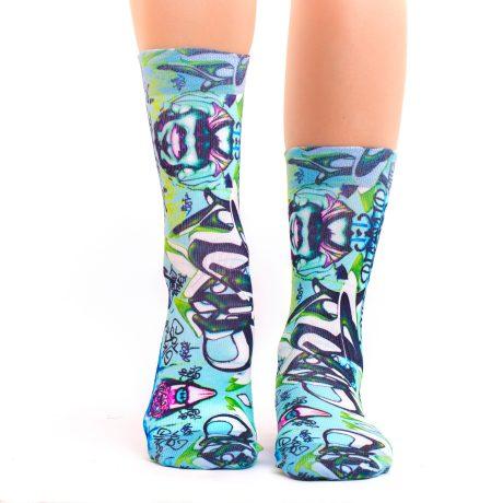 Lady Socks GRAFFITTI ART III