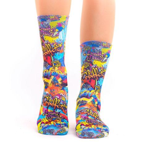 Lady Socks GRAFFITTI ART VI