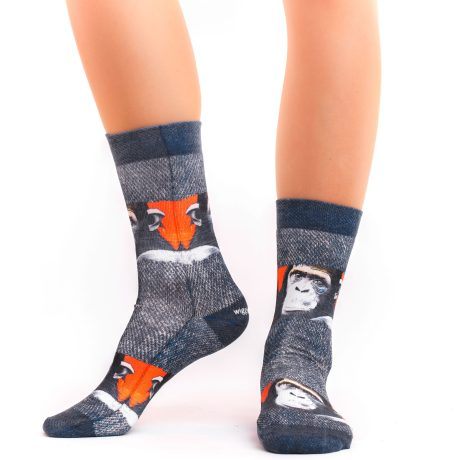Lady Socks MONKEY ART