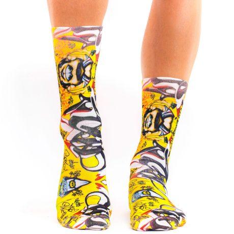 Men Socks GRAFFITTI ART I