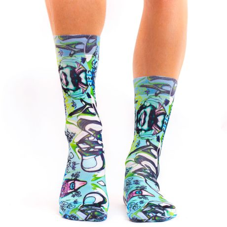Men Socks GRAFFITTI ART III