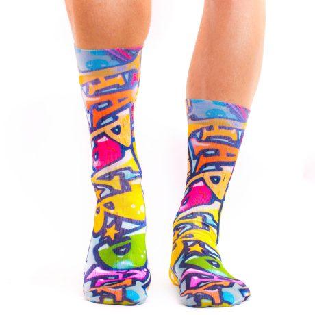 Men Socks GRAFFITTI ART V