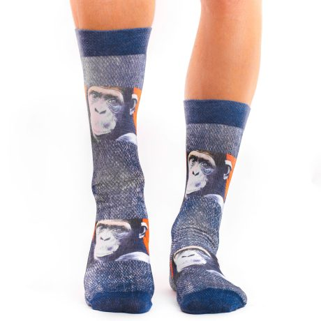 Men Socks MONKEY ART
