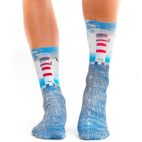 Men Socks LEUCHTTURM AM MEER 2