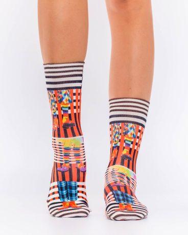 Lady Socks CLOWNS SHOES