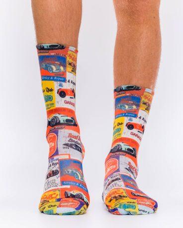 Men Socks CLASSIC CAR RACE