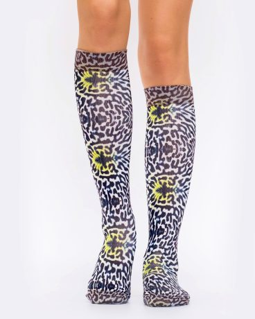 Lady Knee High BUTTERFLY SKIN I