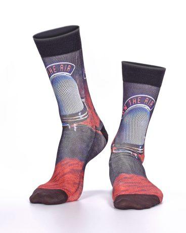Men Socks On The Air