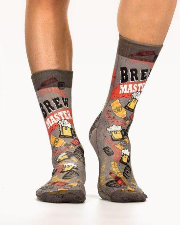 Men Socks BEER STATION