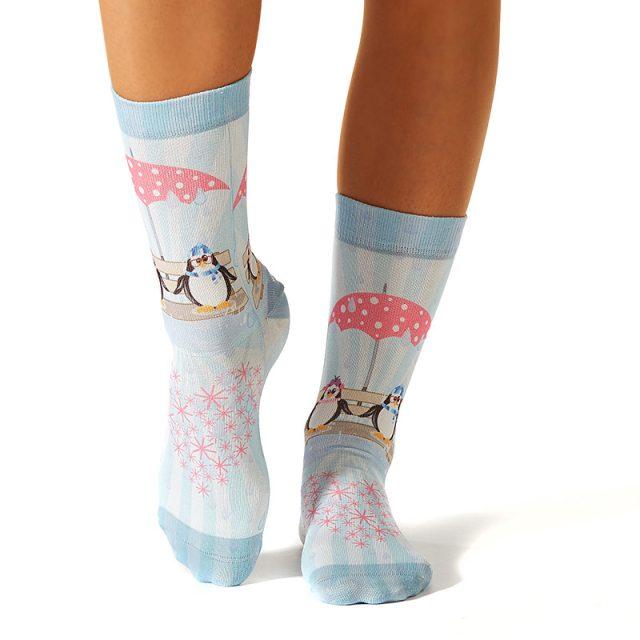 Lady Socks VALENTINE PENGUIN