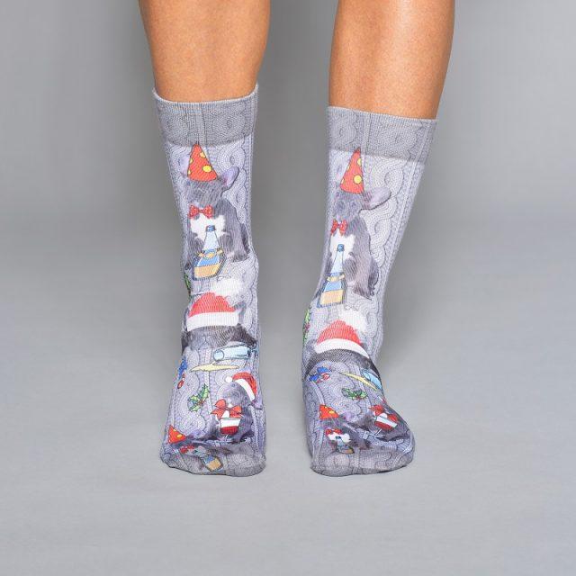 Men Socks XMAS FRENCH-M