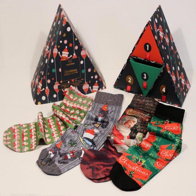 Christmas Box Man Black